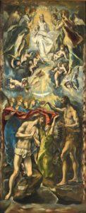 エル・グレコ、キリストの洗礼のヨハネ