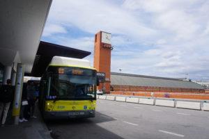 マドリード空港行きエクスプレスバス