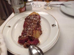 アサドールドノスティのお肉