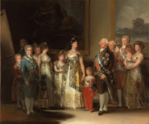 ゴヤ、カルロス4世とその家族