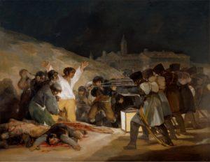 プラド美術館ゴヤ5月3日