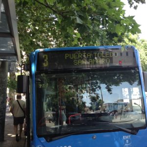 プエルタ・デ・トレド3番バス停