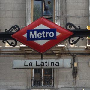 メトロ5号線ラ・ラティーナ