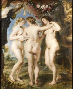 プラド美術館ルーベンス、三美神