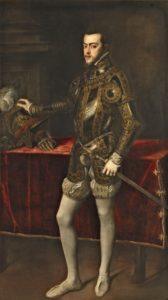プラド美術館ティチアーノ、フェリペ2世