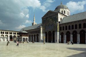 シリア、ウマイヤッドモスク