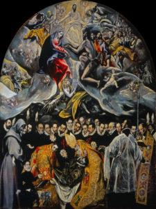 オルガス伯の埋葬