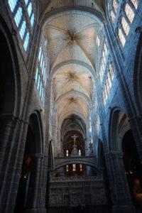 セゴビア大聖堂内部