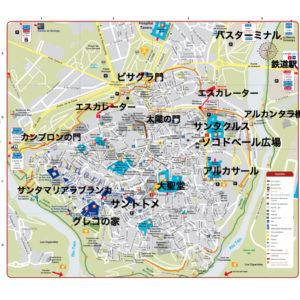トレド地図