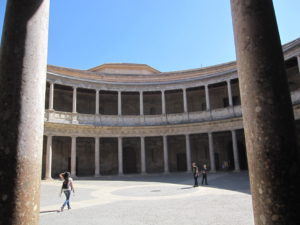 アルハンブラ宮殿内カルロス5世宮殿