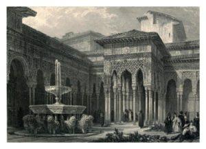 アルハンブラ19世紀版画