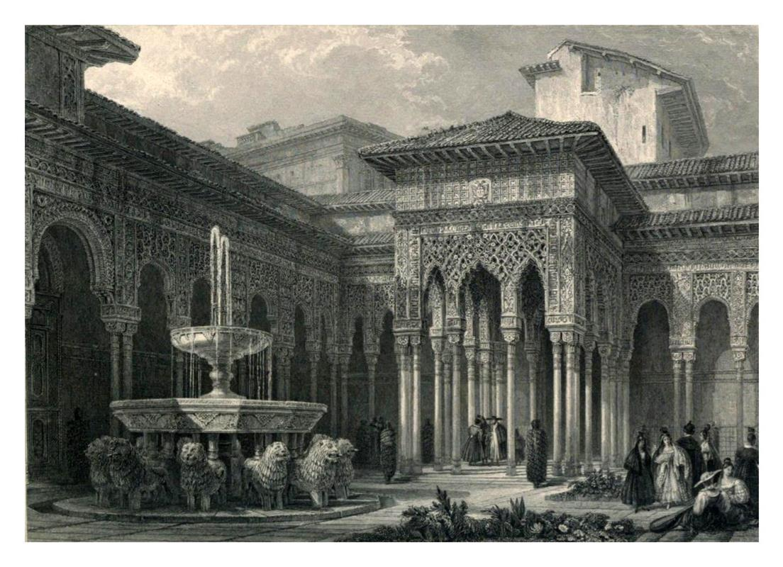 アルハンブラ宮殿グラナダ王国<イスラム建築の最高芸術>