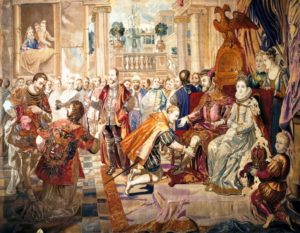 カルロス5世退位式