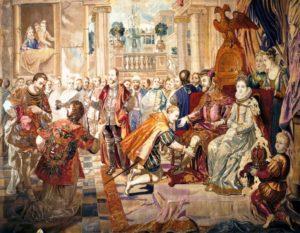 カルロス5世ブルッセルでの退位
