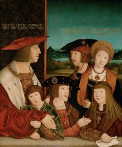 カルロス五世と父方の家族