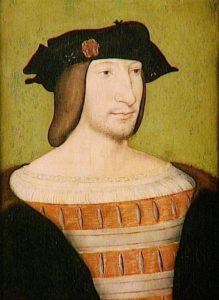 フランソワ1世1515年