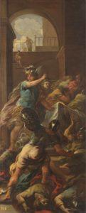 ルーカジョルダノのペルセウスのメドゥサ退治