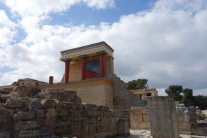 クレタ島、クノッソス宮