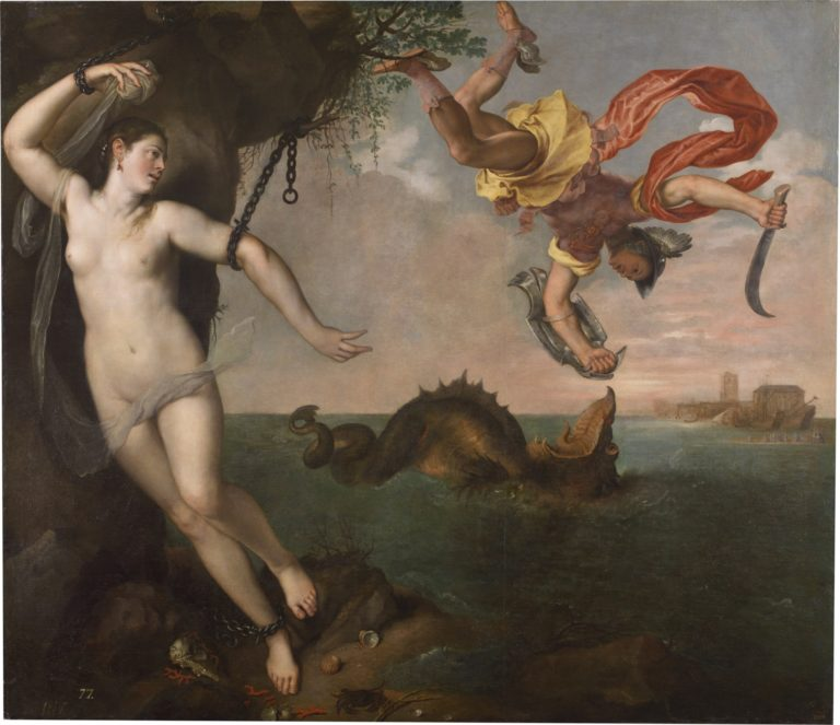 アンドロメダとペルセウス