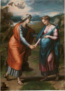 聖母のエリザベス訪問 ラファエルの工房