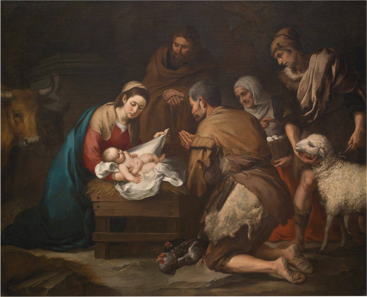絵画で読み説く新約聖書、クリスマスの物語・キリストの誕生と無原罪の御宿り