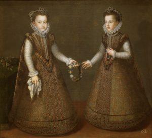 フェリペ2世の2人の娘