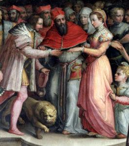 アンリ2世とカトリーヌデメディシス
