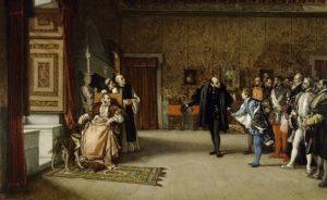 フアンデアウストリアのカルロス5世への紹介