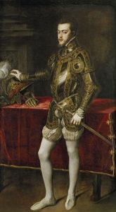 フェリペ2世1551年