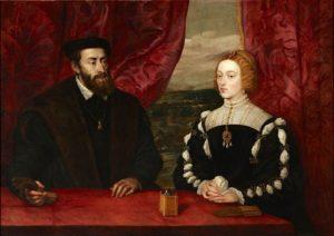 カルロス5世とイサベル