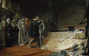 フェリペの母イサベルの死