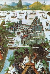 コンスタンティノープル1543年
