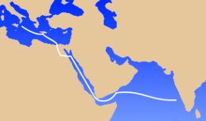 イタリアからインド洋