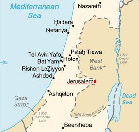 エルサレム地図