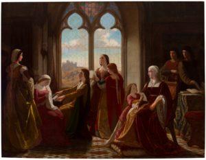 イサベル女王と子供達