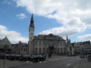ベルギーリールの街