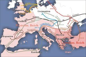 ゲルマン民族の大移動