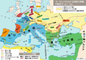 ローマの分裂