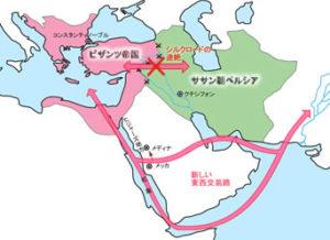 ササン朝ペルシャとビザンツ帝国
