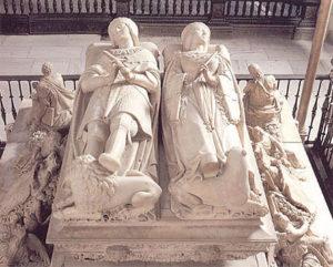 フィリップ美公とファナの墓