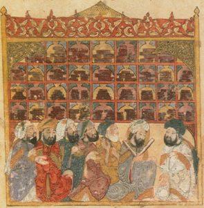 13世紀のイスラム圏の図書館