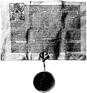 レオ10世発行の免罪符