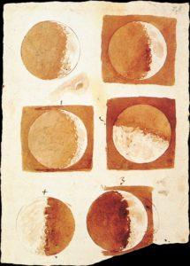 ガリレオの月の満ち欠けの研究