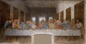 レオナルドダビンチ、最後の晩餐