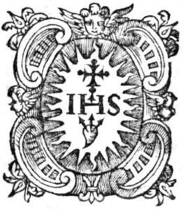 イエズス会紋章