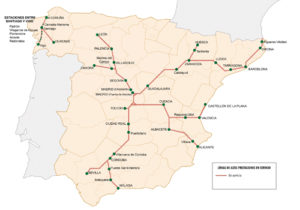 スペインアベの路線