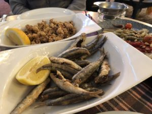 アンプリアス夕食