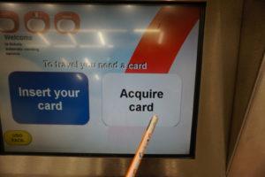 マドリード地下鉄、自販機