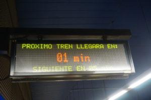 マドリード地下鉄