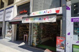 マドリード中心部ショッピング